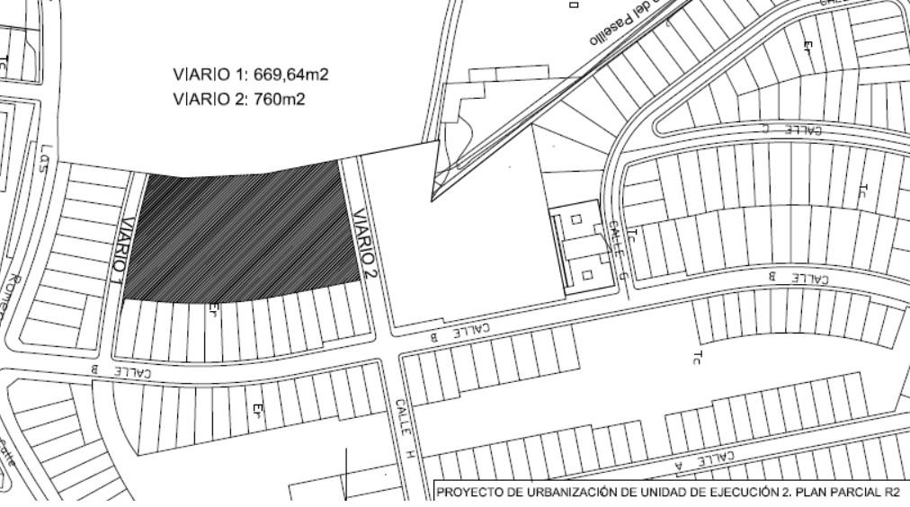 NUEVA ADJUDICACIÓN: Urbanización de parcel en unidad de ejecución 2, Plan Parcial RII 41566