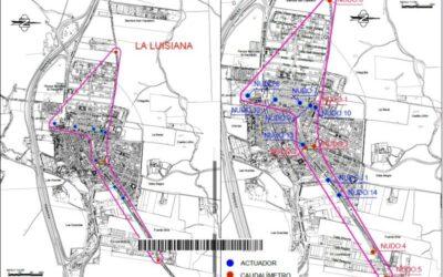 Nueva adjudicación: MICROSECTORIZACIÓN DINÁMICA DE RED DE ABASTECIMIENTO en el Municipio de La Luisiana (Sevilla).