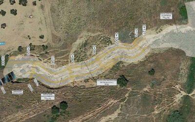 Actuación de emergencia para reparación del aliviadero CCV-002 y de daños al DPH en el Arroyo de Guía (Camas)