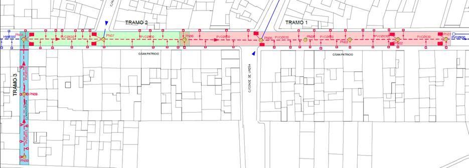 Adjudicación a Drainsal de la renovación y mejora de la red de saneamiento en calles  San Patricio y Angostura de La Puebla de Cazalla (Sevilla)