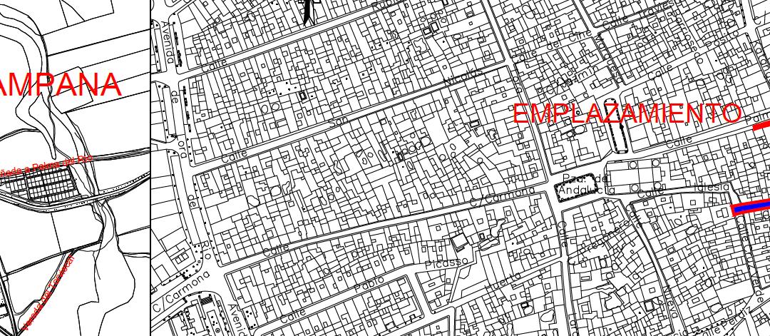 Drainsal adjudicataria de las obras de abastecimiento y saneamiento en La Campana (SEVILLA)