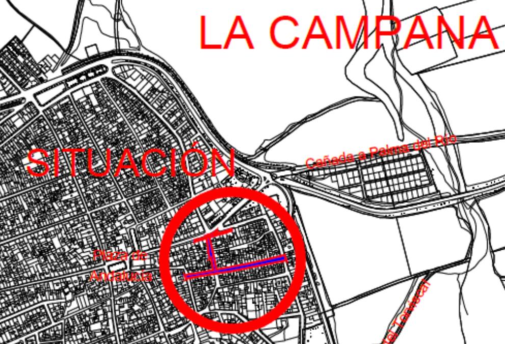 Drainsal fue adjudicataria de Obras de Renovación de redes de abastecimiento y Saneamiento en La Campana (Sevilla)