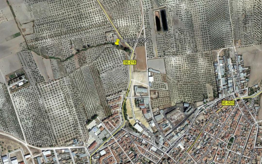 Drainsal fue adjudicatario del Proyecto de reparación de daños crecida Arroyo del Pilar en Paradas (Sevilla)