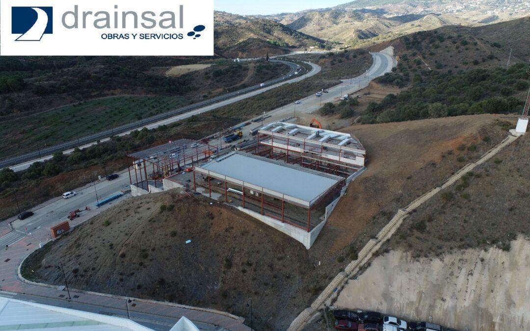 Construcción del centro operativo de empresas de recogida de RSU y limpieza viaria
